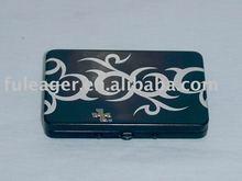 Embossing Tin cigarette case