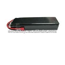 rc lipo battery pack 22.2v 4000mAh 25C continuous, 50C burst