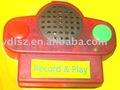 Gravador de voz para brinquedos