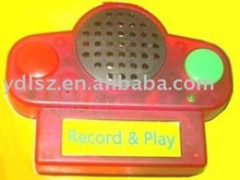 Voice recorder for toys
