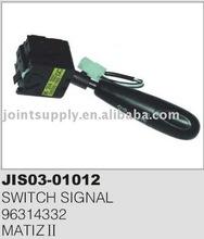 Daewoo turn signal switch for MATIZ II 96314332