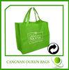 Hottest environmental friendly bag,coated non-woven polypropylene bags