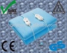 Polar Fleece Winter Electric Blanket with GS,CE,RoHS,SAA,CB
