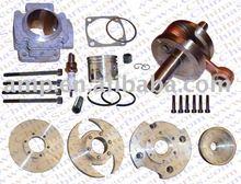 Performance Cylinder Head Piston Ring Crankshaft Kit Big Bore Kit 47CC 49CC Mini Moto Quad ATV Parts