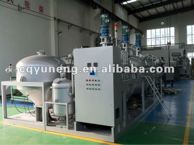 Used Oil Recycling Motor Oil Cleaning Machine Black Color