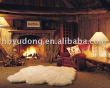 100% australian fluffy sheepskin rug