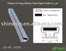 magnetic seal strip,magnetic door seal,sealing strip