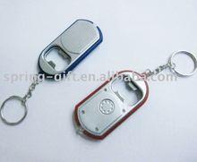 led light key ring and opener light keychain