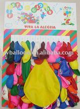 Big card balloon