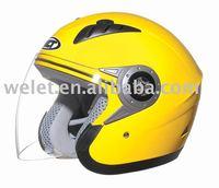 ECE helmet WLT-202 Yellow NEW DESIGN