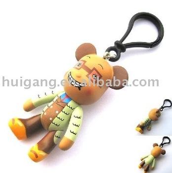 mini toys doll decoration innovation design custom design key chain