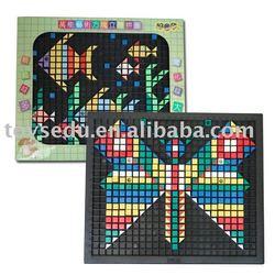Educational Plastic Toys 3D Puzzle