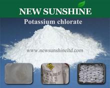 99.7% Anti-caking fireworks material Potassium chlorate
