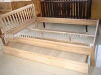 King Size Wood Bed,Bedroom Furniture
