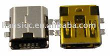 Mini USB 5pin SMT connector for PCB board