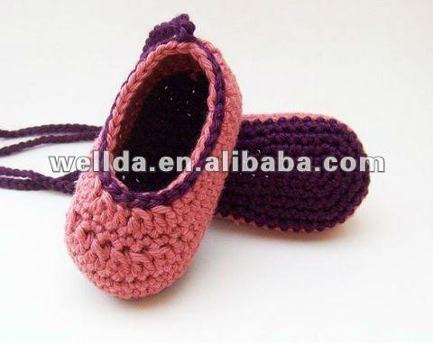 Zapatos del ganchillo del bebé