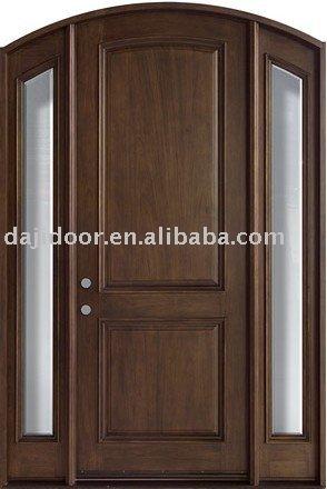 Europ enne h tel de maison en bois massif de la porte for Portes principales bois