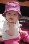 lovely pink bucket hats, bucket cap