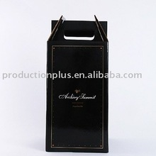 Beautiful printied carboard Wine Carrier Box packaging