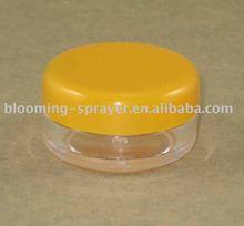 Plastic cream jars, PP, cosmetic mini container packaging