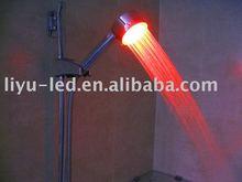 led shower head/LED Temperature Detectable Shower/rainfall shower head