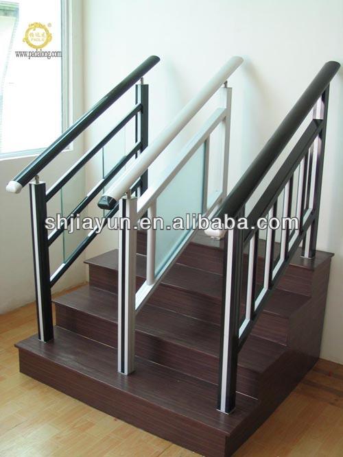 Tubo de aleaci n de aluminio barandilla para cubierta - Cubiertas de aluminio para terrazas ...