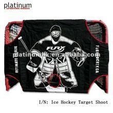 "ice hockey target shoot(72""x48""x32"")"