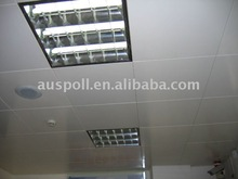 Decorative suspended ceiling tiles