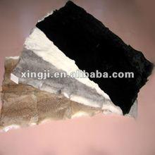 rabbit skin fur plate