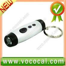Mini LED LCD Projection Clock Digital Keychain