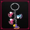 Hot selling 2014 fashion custom key chain hobbyhorse metal Keychain