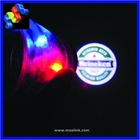 Promotional LED Logo Projector cups with 3 flashing light