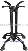 dining or bar cast aluminium table base