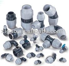 plastic compression fittings irrigation supplier pp compression fittings pipe and fittings