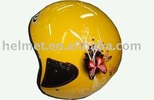 Unisex motorcycle e-bike open face helmet scooter helmet