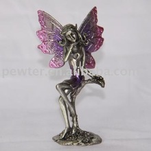 2012 QZchaoqun coulor fairy,metal fairy.fairy figurineCQH0281C