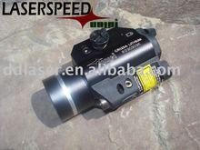 Green Laser and LED light for handgun