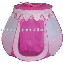 princess folding kids tent