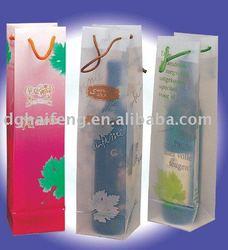 plastic bottle bag&clear plastic wine bottle bags&recycled plastic bottle tote bag