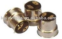 latest products brass-nickel lamp cap_B22