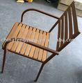Plástico cadeira de madeira, Cadeira de jantar, Cadeira empilhável