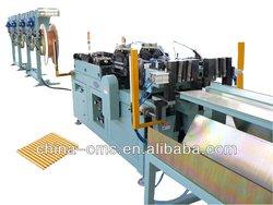LWC Pipe cutting Machine belt feeding