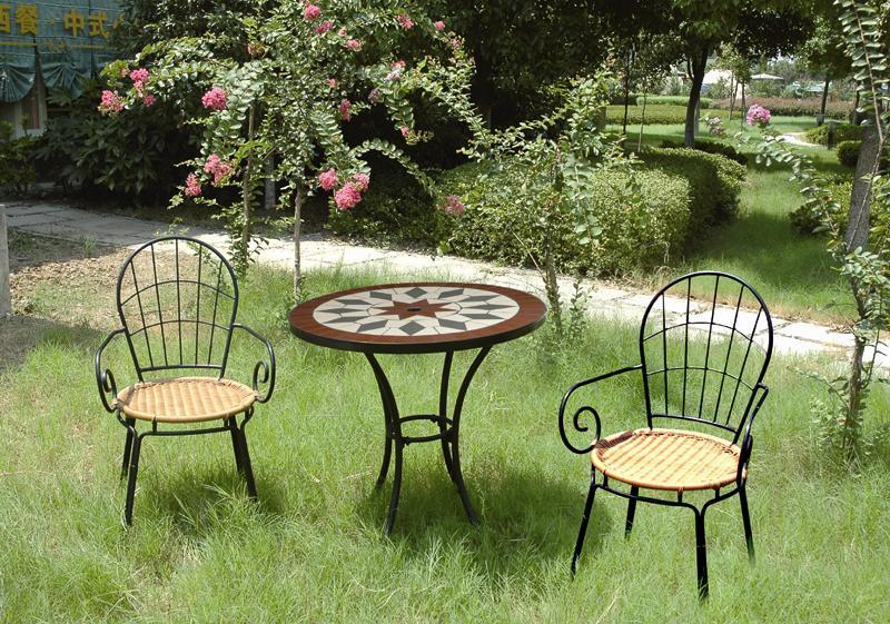 Moderna muebles de jard n patio establece made in for Muebles patio