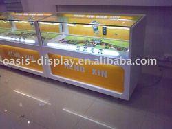 glass display cabinet, glass showcase