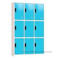 3 Tier 3 Wide Locker/9 Door Locker/Steel Lockers