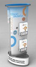 Acrylic promotional rotating display stand