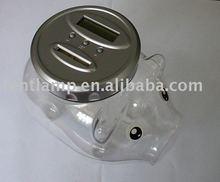 digital coin box,money saving tin,plastic money bank