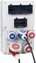 IP65 plastic distribution box Socket outlet cover Screw box industrial socket and plug