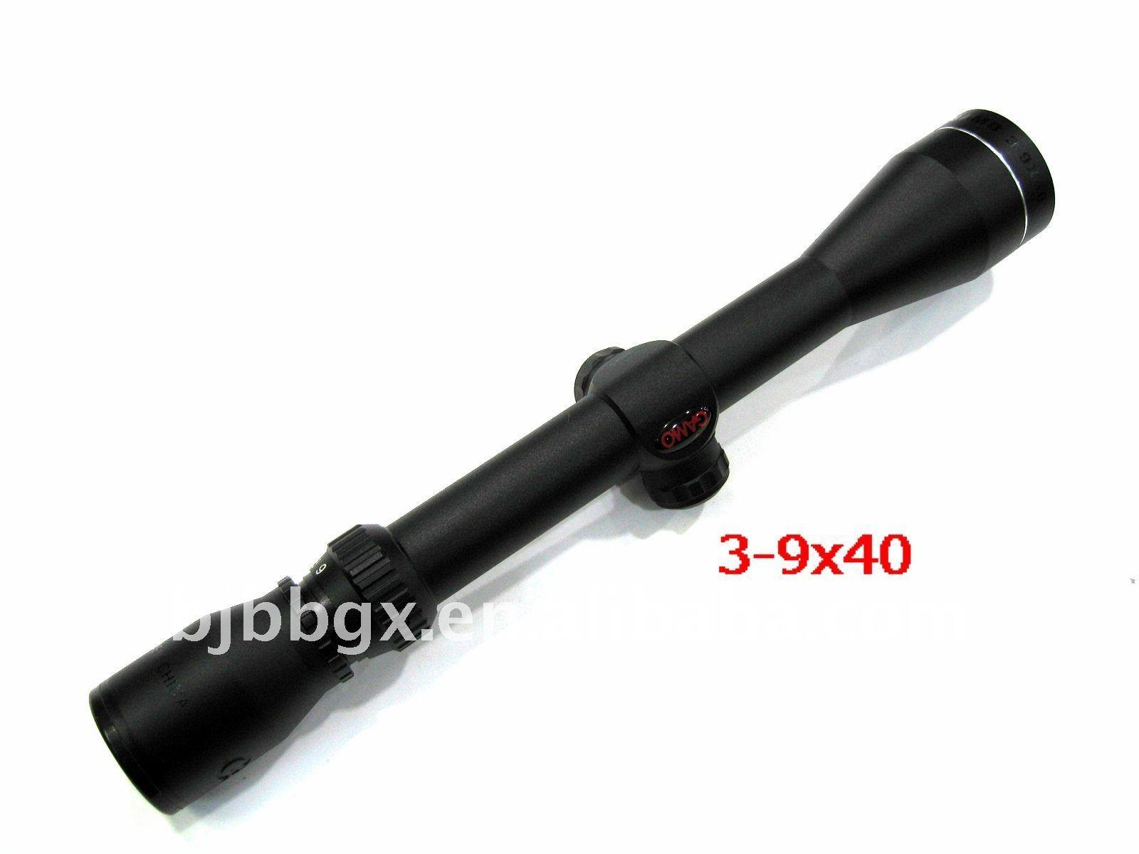 GAMO 3-9X40 riflescope rifle scope for airsoft