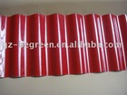 2mm PVC Corrugated red Sheet for roof drain